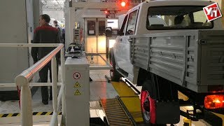 Ульяновский автомобильный завод запустил новую линию испытательных тестов автомобилей