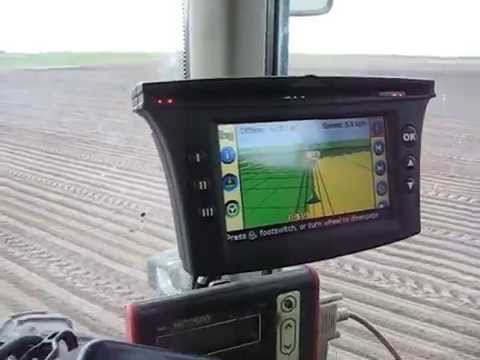 Trimble ez guide 500 rtk ez steer on john deere 6320 youtube trimble ez guide 500 rtk ez steer on john deere 6320 sciox Images