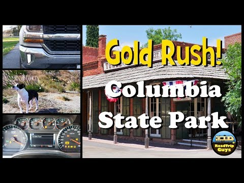 Experience The California Gold Rush, At Columbia State Park!