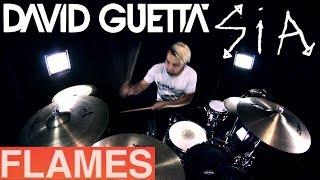 David Guetta & Sia - Flames (Drum Remix)