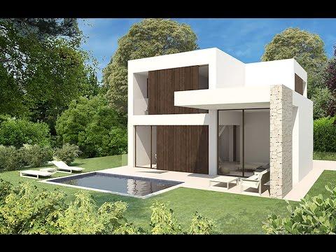 Modern villa 300 meters from the beach in Denia