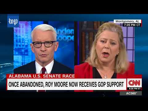 Roy Moore's spokeswoman and CNN anchors get into heated exchanges