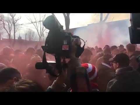Ultras Vicenza Stadio Menti 13/01/18