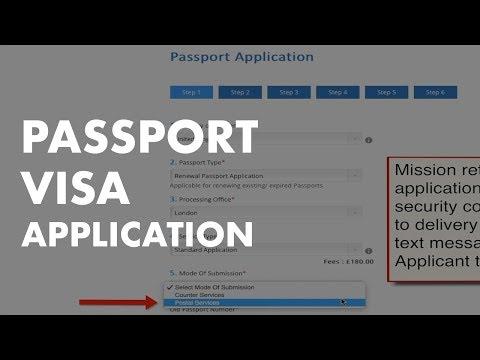 GHANA VISA AND PASSPORT APPLICATION PROCESS IN UK