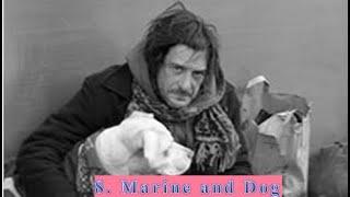 Marine and Dog