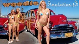 Chevrolet Fleetmaster 1947 Woody · Simulation 3D