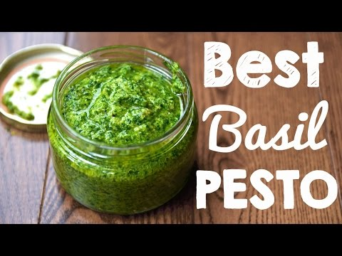 How to Make Basil Pesto   Better than Store bought!