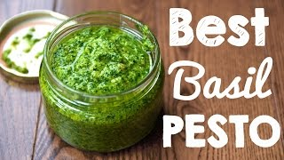 How to Make Basil Pesto | Better than Store bought! Thumbnail