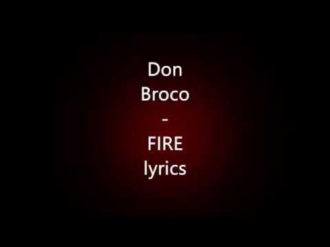 Don Broco - FIRE (lyrics)