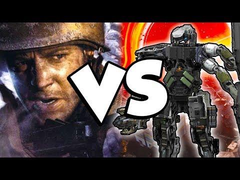 Classic Call of Duty VS Future COD...