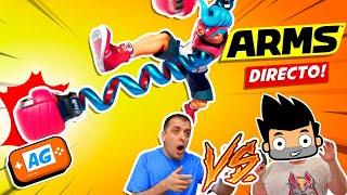 Combate en ARMS 🔥 Jugando con EDU vs MAPE Abrelo Game ! 🔥 | Combate entre amigos!