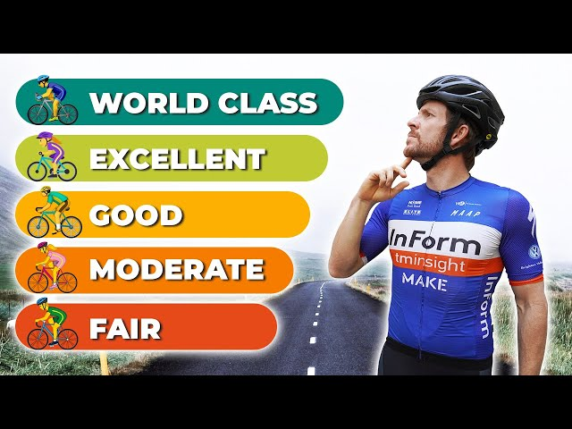 How to Pinpoint Your Cycling Strengths & Weaknesses (using the official numbers)