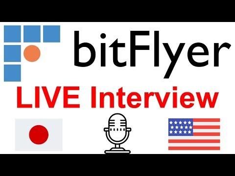 bitFlyer COO Bartek Ringwelski - Live Interview