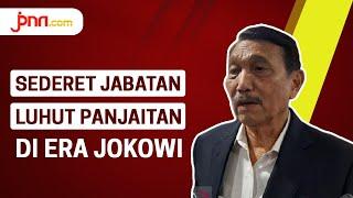 Sederet Jabatan Luhut Pandjaitan di Era Jokowi
