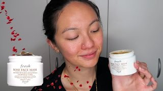 FRESH Rose Face Mask | First Impression & Review