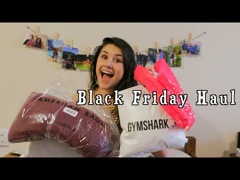 Black Friday/cyber Monday Haul | ULTA, PACSUN, GYMSHARK, AE