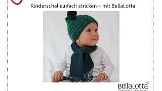 Kinderschal einfach stricken - mit BellaLotta