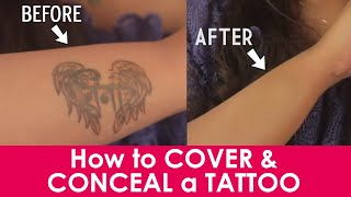 How To Cover and Conceal Tattoos | Tips To Cover Tattoos With Makeup | Be Beautiful