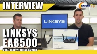 Linksys Dual-Band Wireless Router Interview - Newegg TV