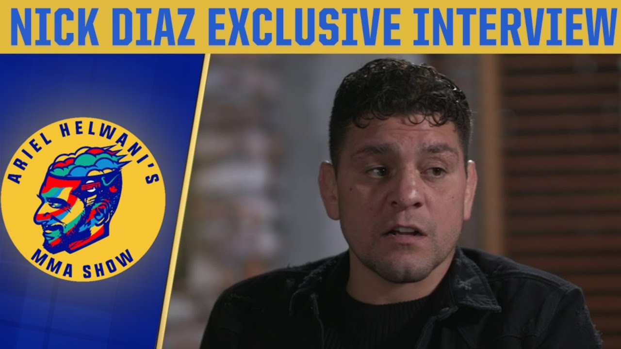 Nick Diaz exclusive: Opening up on return to the Octagon, Jorge Masvidal | Ariel Helwani's MMA
