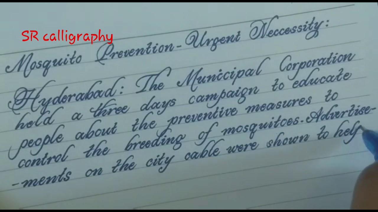Amazing lucida handwriting/beautiful english handwriting ...