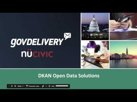 Winter meeting 2017: DKAN - The Open Data Portal built in Drupal