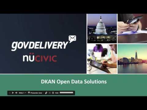 Winter meeting 2017: DKAN - The Open Data Portal built in Drupal
