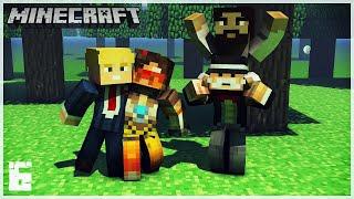 Minecraft Survie E06 - On continue le BurgerKing et on fait le pont de Jésus