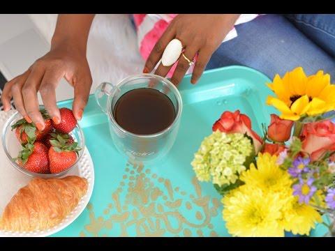 DIY Vintage Breakfast Tray Makeover