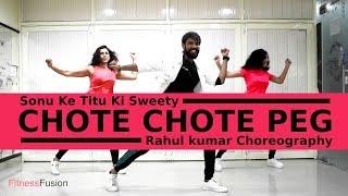Chote Chote Peg Zumba | Chote Chote Peg Bollywood Dance Workout Choreography | Fitness Fusion