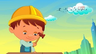 London Bridge - English Nursery Rhymes - Cartoon And Animated Rhymes