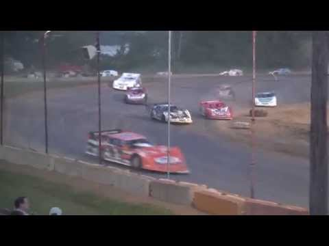 UMP Late Model feature Quincy Raceways 7/5/15