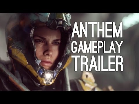 Anthem Gameplay Reveal Trailer - Bioware's Destiny Game Xbox One X Gameplay