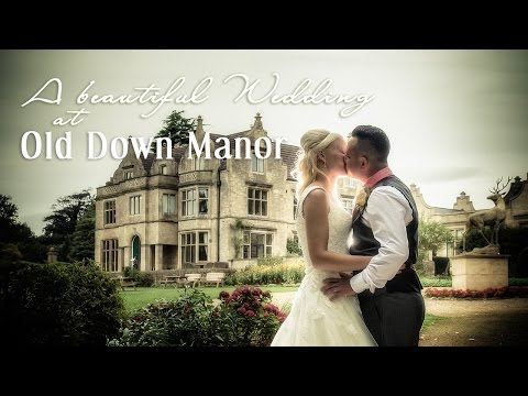 A beautiful wedding day at Old Down Manor, Bristol