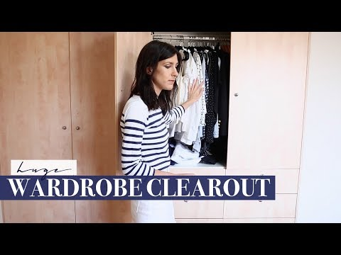 HUGE Wardrobe Declutter & Clear Out - Starting my Wardrobe f