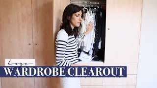 HUGE Wardrobe Declutter & Clear Out - Starting my Wardrobe from Scratch? | Mademoiselle