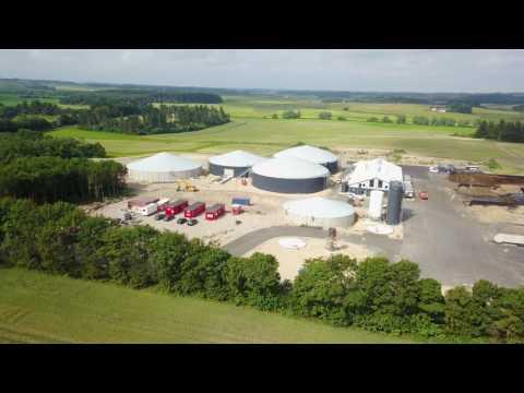Biogas Plant Högholt Denmark (July 2017)