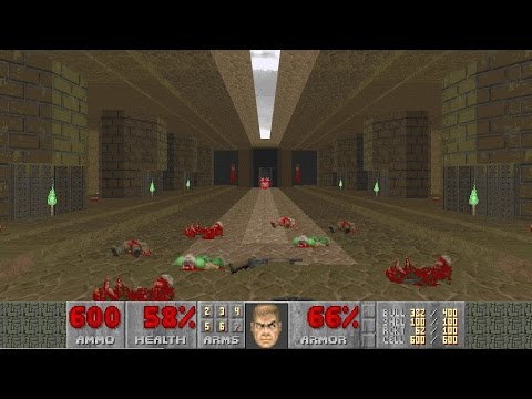 Final Doom: The Plutonia Experiment - Nightmare! difficulty in 43:57