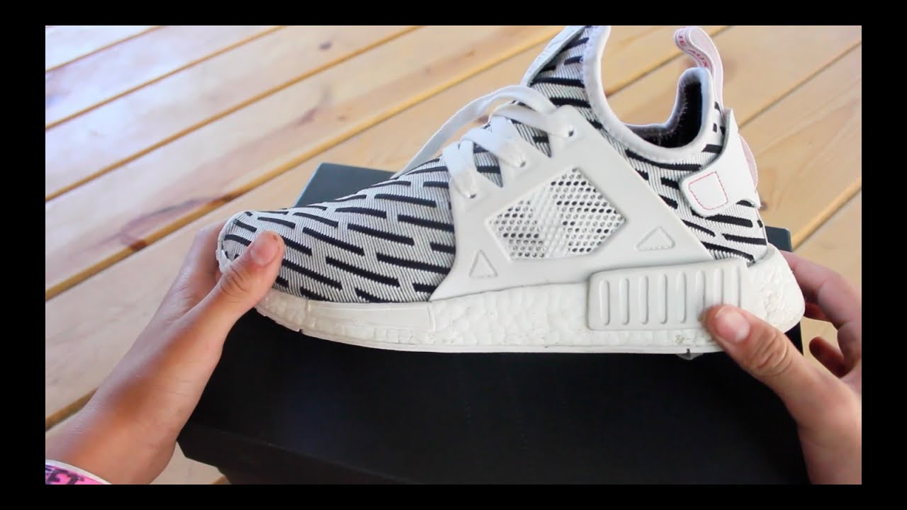 3290950d0 Adidas NMD XR1 Zebra Review in 4K - YouTube