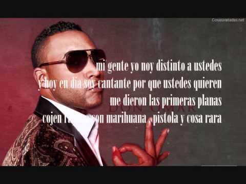 Bandolero – Don Omar Ft Tego Calderon – Letra