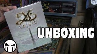 Unboxing - Ys Origin Collector