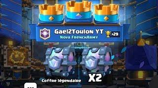 Clash Royale - ON S'OUVRE 2 COFFRES LÉGENDAIRES !! LÉGENDAIRE MAX ?!