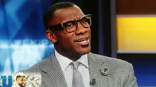 Shannon Sharpe gets heated and walks off set because Skip Bayless compared Tim Tebow to Aaron Judge