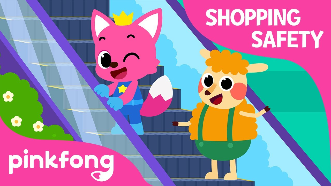 Indoor Safety Song | Shopping Mall Safety | Stay Safe | Pinkfong Safety Rangers