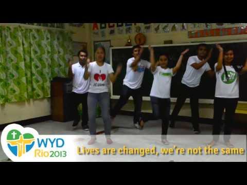 WYD Rio 2013 Theme - Hope of the Dawn Animation