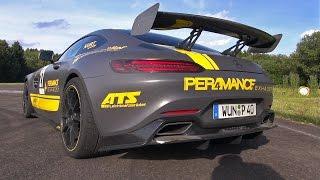 Mercedes-AMG GT S GT4 w/ PER4MANCE Exhaust! Launch Control, Revs, 1/4 Mile Race