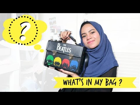 WHAT'S IN MY BAG ? [INDONESIA] | dinidinda