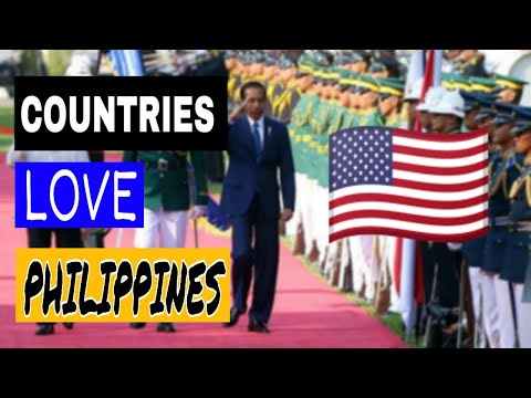 🇵🇭Top 10 Countries That Love Philippines 🇵🇭| Allies Of Philippines