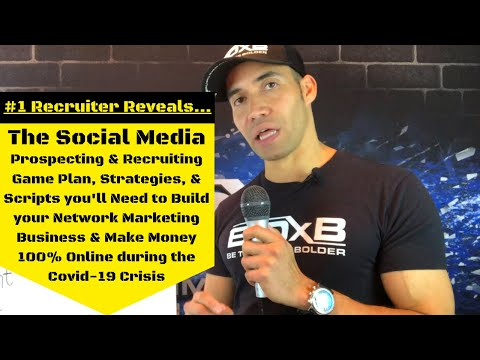 How to Build Network Marketing using 100% Online Social Media Prospecting & Recruiting Methods!