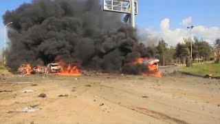 Нападение на колонну эвакуированных в Сирии: более 100 жертв (новости)